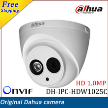 New Arrival Dahua IP Camera DH-IPC-HDW1025C HD 1MP IR Security CCTV Camera Waterproof IP67 Support Onvif(China (Mainland))