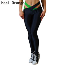 Buy HEAL ORANGE Yoga Pant Womens Tights Running Leggings Sports Pants Female Women Gym Running Workout Pants Fitness Yoga Pants for $11.99 in AliExpress store