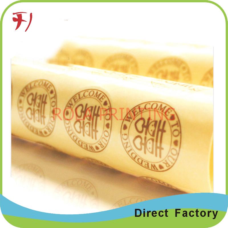 Customized Professional Design Super Market Shelf Label(China (Mainland))