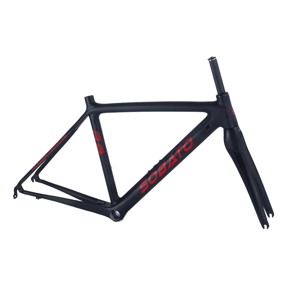 New RCB Carbon Frame Road 2016 Carbon Bike Frame Chinese Cadre Carbone BB30/BSA T700 UD Matte Carbon Bicycle Frameset(China (Mainland))