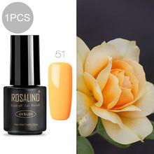 ROSALIND 7ml Gel nail polish Hybrid manicure Set For Poly gel painting art UV LED Lamp nail Gel Varinishes(China)