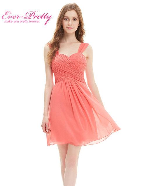 Свадьба ну вечеринку платье HE03539 элегантный оборками хлопка-ватник длиной до колен ...