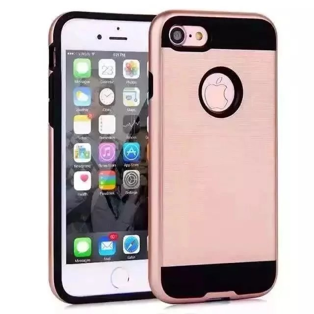 For iPhone 7 Luxury Ultra thin Back Cover Frosted Shockproof Armor Hard font b Mobile b