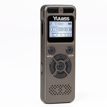 Yulass 8GB Professional Audio Recorder Business Portable Digital Voice Recorder Support Telephone Recording,Tf Card to 64GB