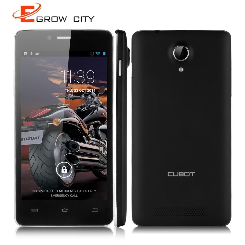 Original CUBOT P10 3G 5.0 inch Smartphone Android 4.2 MTK6572 Dual Core Mobile Phone Dual SIM 1G RAM 8G ROM GPS Cellphone WIFI(China (Mainland))