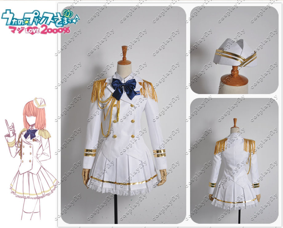 Uta Prince-sama Haruka Nanami Fan-fiction Army Military Cosplay Uniform - Cosplayfly Store store