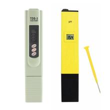 Buy Digital Pocket PH Meter Pen Water Digital Tester + TDSTester Water Analysis Monitor Aquarium Pool Water Laboratory for $9.71 in AliExpress store