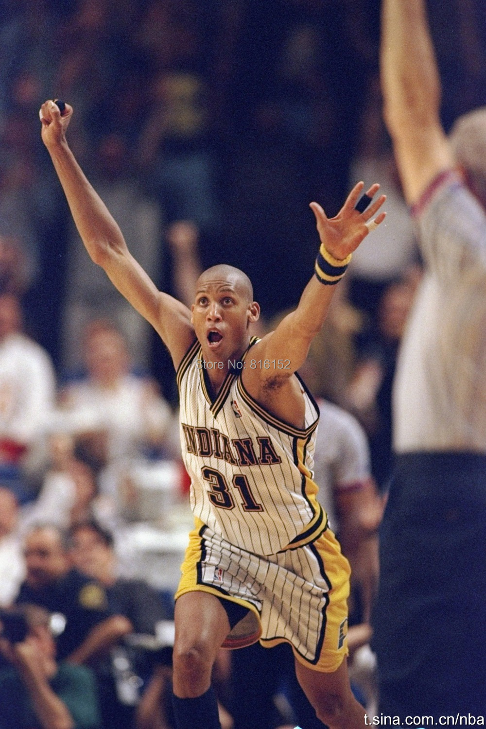 a biography of reggie miller a basketball player