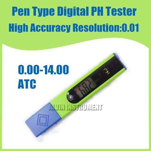 Free Shipping High Accuracy Pen Type Digital PH Meter Tester 0.00-14.00PH 0.01PH ATC<br><br>Aliexpress