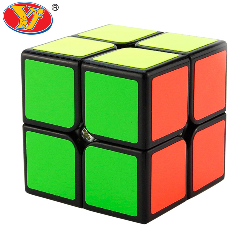 2015 Newest Yongjun Moyu Yupo magic cube 2x2x2 Stickerless cubo magico 2x2 Competition Speed Puzzle Cubes Toys For Kids(China (Mainland))