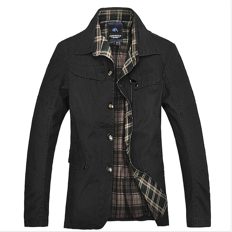 15 new slim men brand windbreaker and long sections cotton coat jacket trench coats manteau. Black Bedroom Furniture Sets. Home Design Ideas
