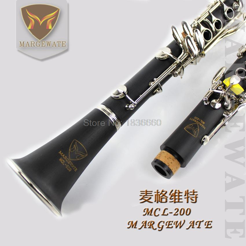 play musical instruments level clarinet metal bB 17 key clarinete professional Nickel plating silver free shipping<br><br>Aliexpress