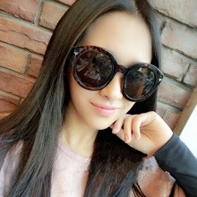 2015 New High Quality Elegant Round Wire Frame Men Sunglasses Gradient Spectacles Shades Oversized oculos de
