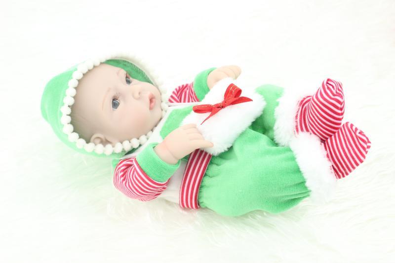 Reborn Doll For Children 12inch Mini Reborn Babies Full Vinyl Silicone Reborn Baby Boy Doll New Year Gift<br><br>Aliexpress