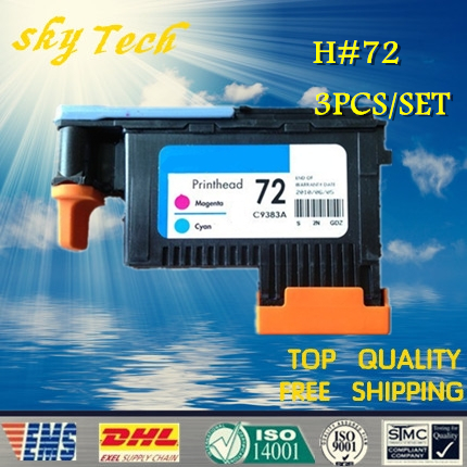 [remanufactured printhead]  ONE set , suit for HP72 , suit for HP 2300 T610 T620 T770 T790 T1100 T1120 T1200 T1300 T2300