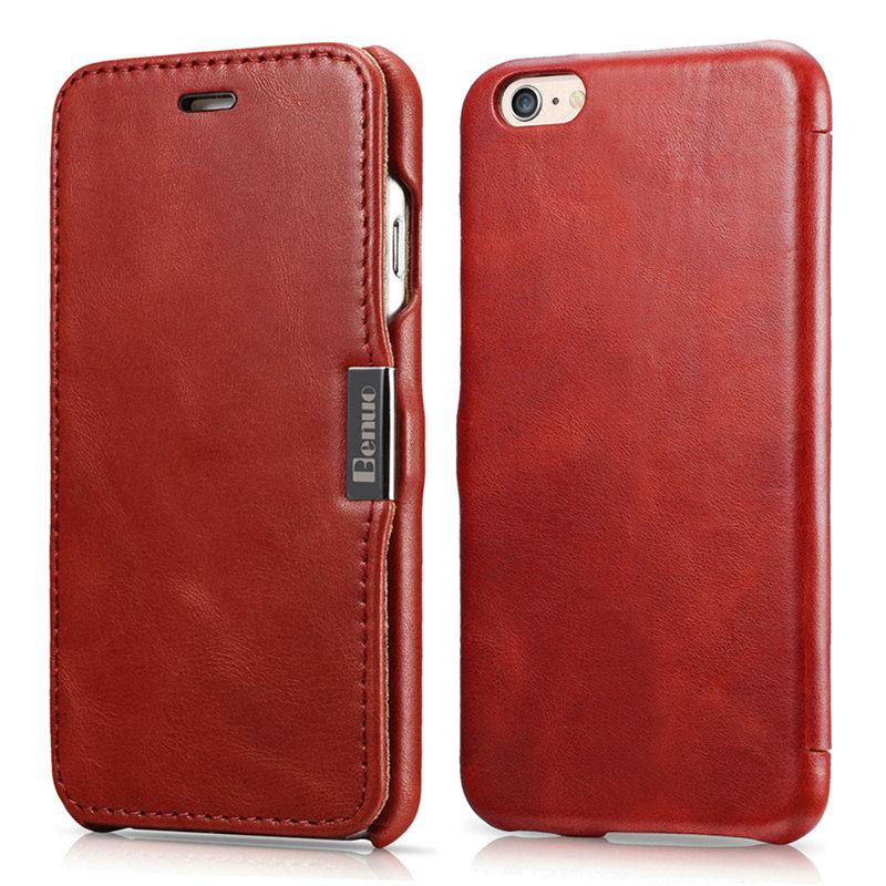 luxury Leather Mobile Phone Case For Iphone 6/6s Original Brand Premium Handmade Flip Case Case For Iphone 6 Luxury Brand Cases(China (Mainland))