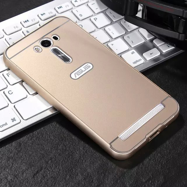 phone case For ASUS Zenfone 2 Laser ZE500KL 5.0 inch Hard Metal Aluminum frame+PC Protector back cover Mobile phone housing(China (Mainland))