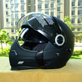 2016 Hot sale Taiwan THH motocycle helmet full face helmets with dual lens multi function retro