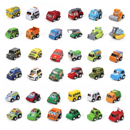 New 1 PCS Mini Pull Back Car Toy For Baby Child Toy Birthday Christmas Gift #8355(China (Mainland))