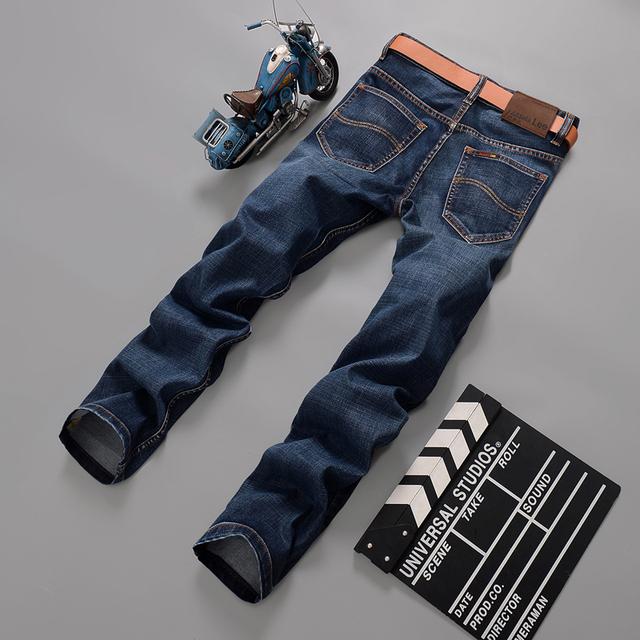 2016 мужчин марки джинсов мужчины свободного покроя джинсовые мужские джинсы прямые ...