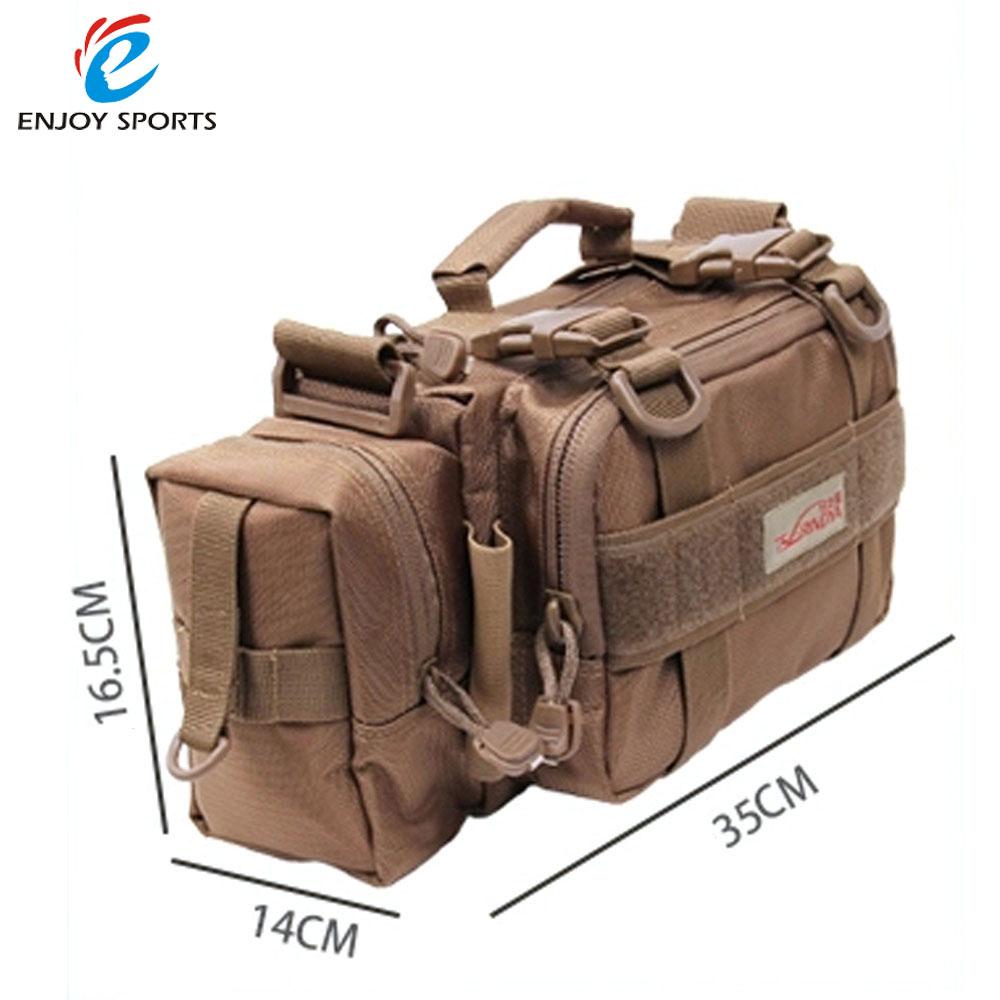 Trulinoya M5 Outdoor Multifunction Fishing Lure Bag Waist Pack Handbag Shoulder Bag Fishing Tackle(China (Mainland))