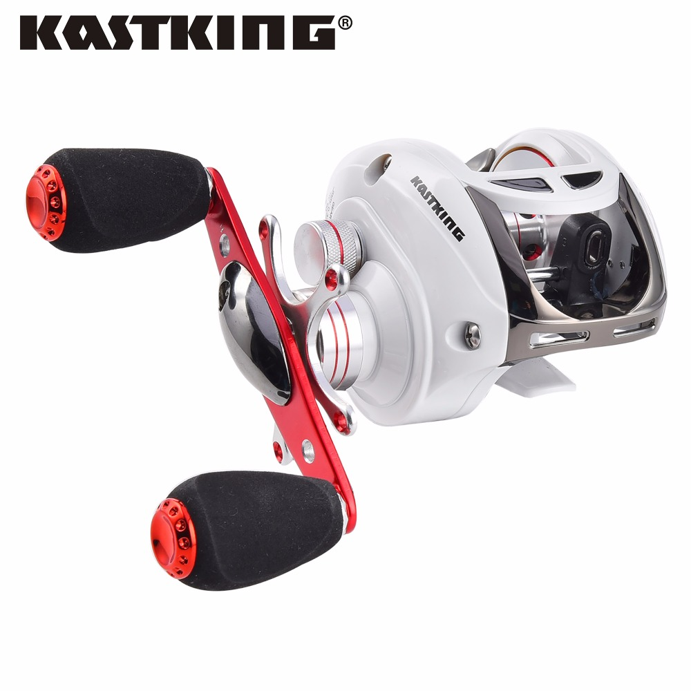 KastKing Whitemax Magnetic Brake Baitcasting Reel 10 BBs Fishing Gear Water Drop Wheel Right Hand Bait Casting Fishing Reel(China (Mainland))