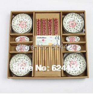 2013 Creative Chinese Tableware sushi dishes utensils gift home kitchen cutlery set - Sample Household products store