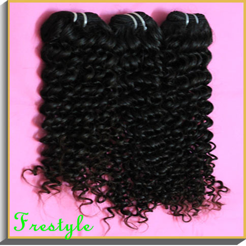 ,10 pieces kilo12 inch-32 inch unprocessed brazilian virgin remy deep wave spiral kinky curly natural hair weave, - Frestyle human (Factory price store)