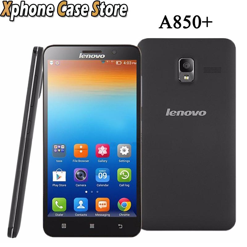 Original Lenovo A850 4GBROM 1GBRAM 5 5inch Android 4 2 Smartphone MTK CPU Support 3G
