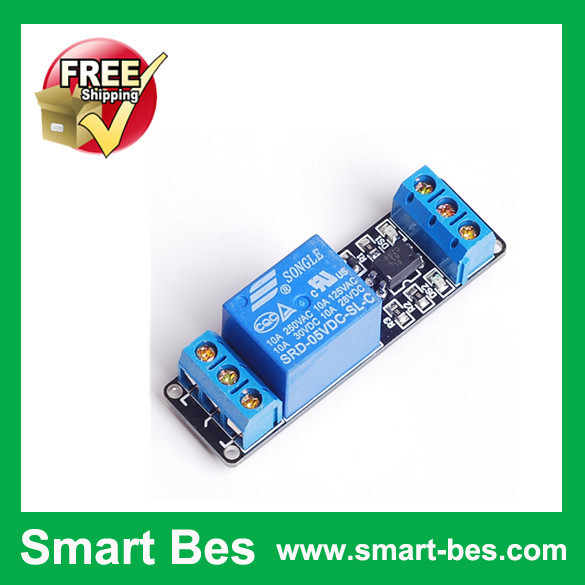 Free Ship 1 Road/Channel Relay Module 5V Electromagnetic Electrical 5v, Drive - Shenzhen S-Mart Electronics Co., Ltd~ 24hour fast shipping~ store