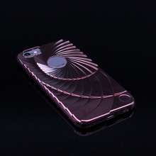 For Apple Iphone 6 6s Cases  Metal Electroplating Revolving Soft Silicone Phone Bags Cases Cover for Iphone 6