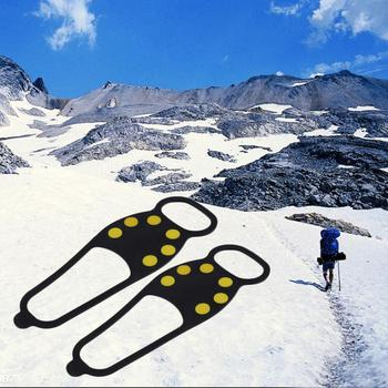Durable Ice Snow Anti Skid Shoe Spikes Grips Crampons Hiking Fishing Hot Selling Toiletry Kits makeup set