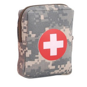 New Wholesale First Aid Kit Outdoor Emergency Small first aid kit Bag Survival military first aid kit size 11*9*4 CM(China (Mainland))