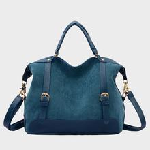 Luxury Women Designer Nubuck Handbags High Quality Brand Vintage Motorcycle Shoulder Bag Lady Travel Sac A Main Femme De Marque