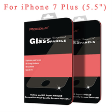 For iphone 7 plus glass Original Mocolo brand For iphone 7 Tempered Glass Screen Protector Film For iphone7 Glass Film 0.33mm