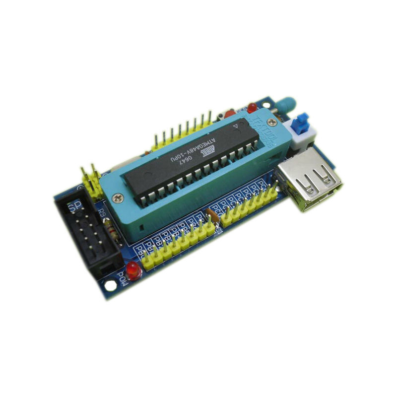 ATmega8 ATmega48 ATMEGA88 board AVR quality DIY kits (no chips)(China (Mainland))