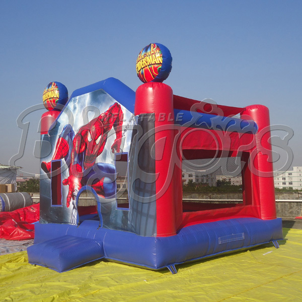 Free Shipping Spiderman House Inflatable Bouncer Jumping For Sale(China (Mainland))