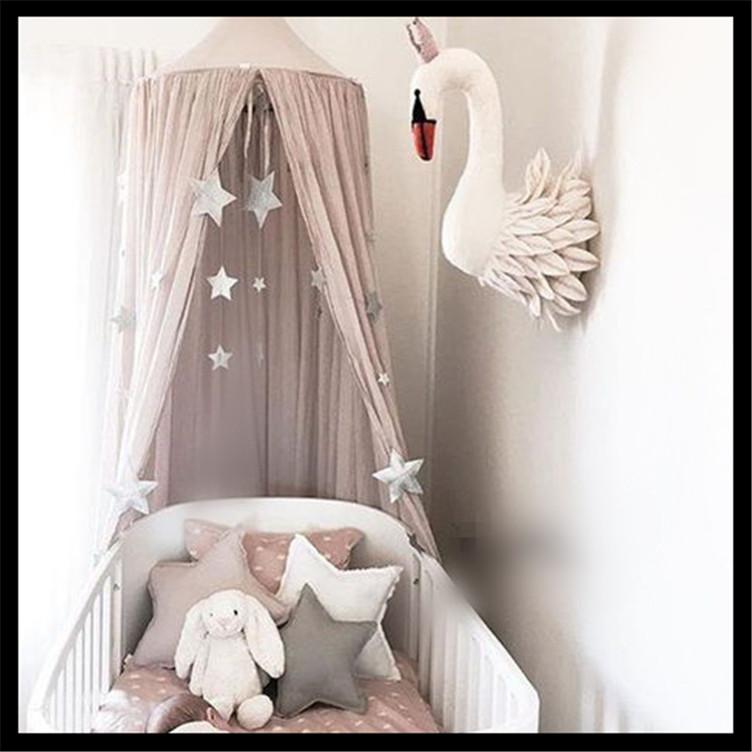 Children Big Top Hanging Kids Play Tent Cotton hemp Teepee White ...