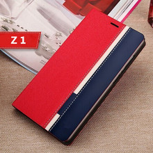 Buy Fashion Book Stand PU Leather Case SONY Xperia Z1 L39h sony z 1 Phone Back Cover Card Slot Wallet Holder for $3.00 in AliExpress store