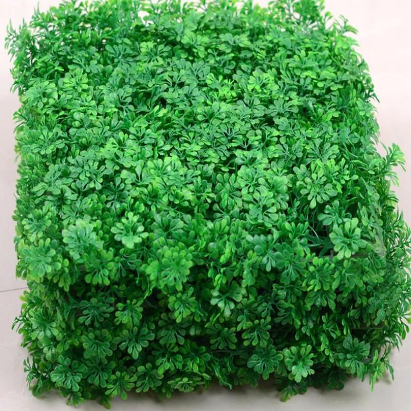 25*25 cm artificial lawn turf plants artificial grass lawns carpet sod garden decoration house ornaments plastic(China (Mainland))