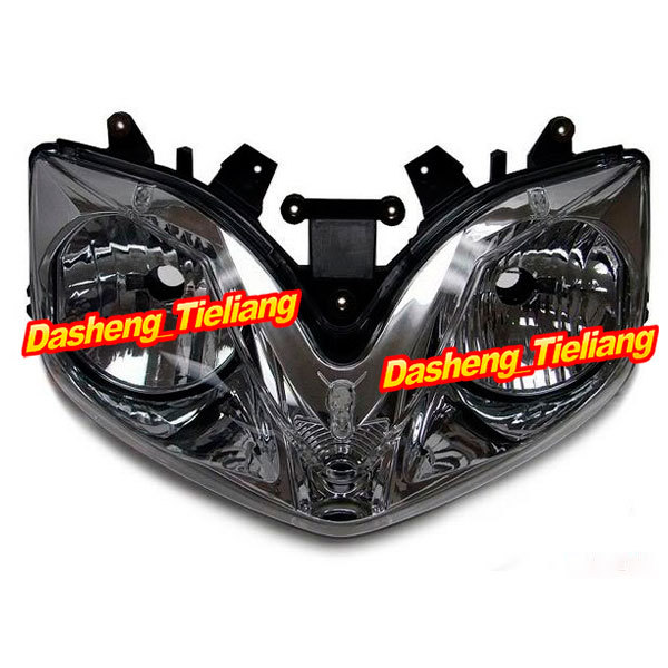 Motorcycle Headlamp for CBR 600 F4i 2001 2002 2003 2004 2005 2006 2007, Black Front Motor Headlights Lighting Light Lamp<br><br>Aliexpress