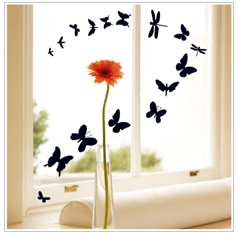 Http Www Aliexpress Com Item Butterfly Home Decor Wall Stickers For Kids Rooms Diy Bedroom Decoration Wall Decals Kitchen Art Mirror 1687996157 Html