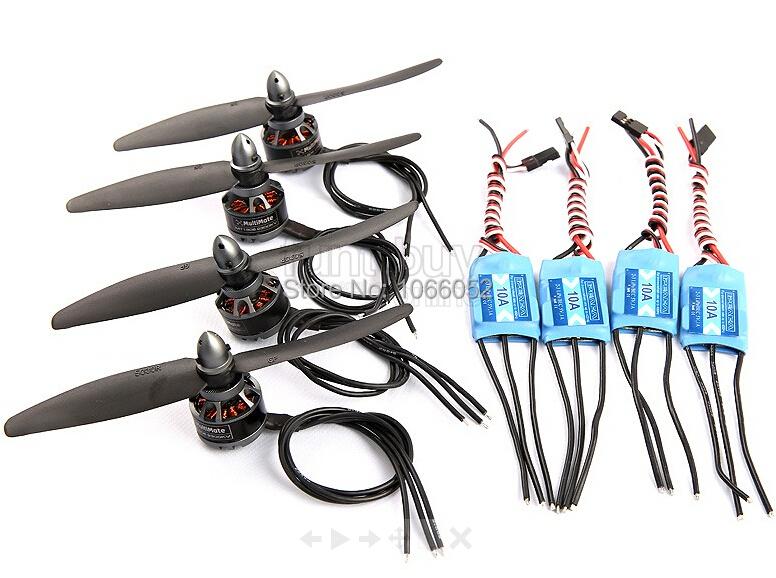 250mm quad power combo motor, esc prop ,Mini Quad XBIRD 250 Power combo set MT1806 2300kv,10A ESC,5030 prop<br><br>Aliexpress