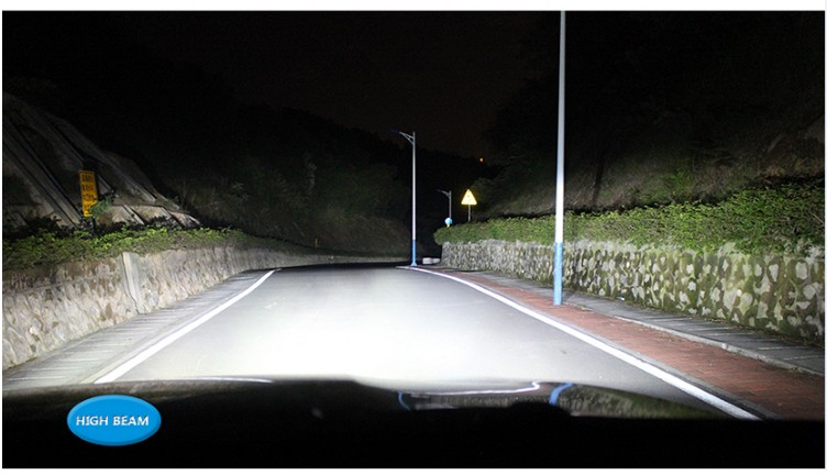 R4 LED high beam