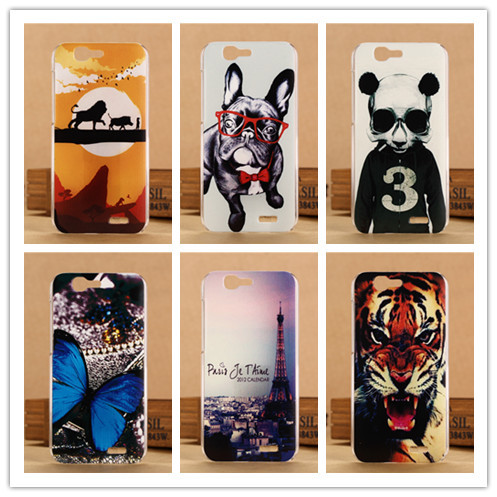 Good Quality Hard Plastic Cover 3D Painted Case For Huawei Ascend G7 Phone Back Cases PY(China (Mainland))