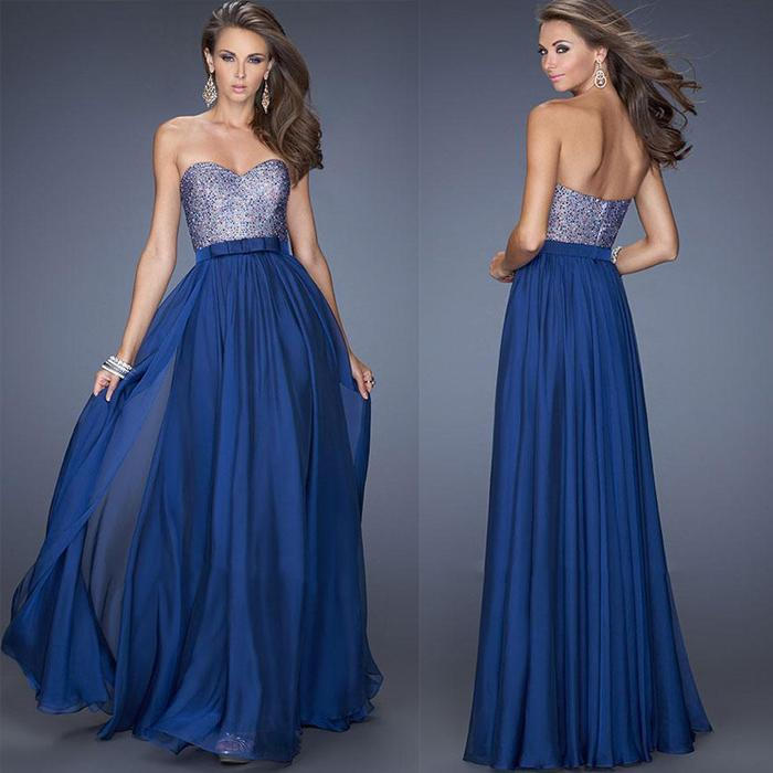 Beautiful-Long-Graduation-Dresses-2015-Sequins-Chiffon-Sweetheart ...