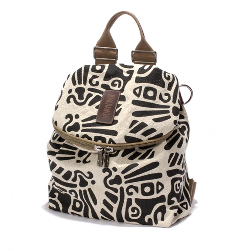 100% Pure cotton canvas backpack The mayan pattern leisure and travel bag Brand high quality outdoor sport bag school bag cute(China (Mainland))
