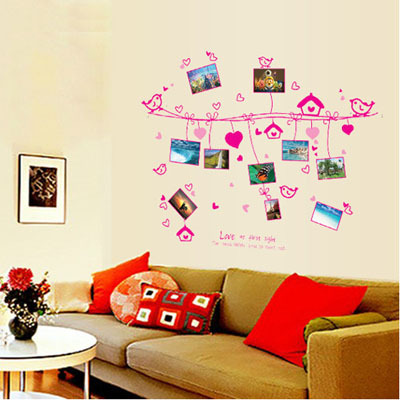 Saturday Monopoly Diy Cartoon Loving Rope Photo Wall