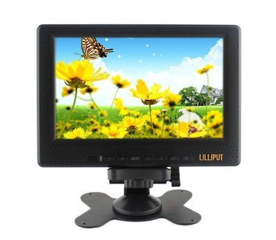 7'' LCD Monitor With HDMI & BNC Ypbpr input