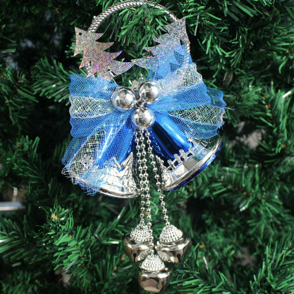 Christmas decoration bell pendant bell christmas tree for Christmas tree items list